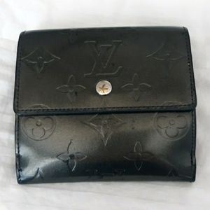 Rare Louis Vuitton Empreinte Leather Elise Wallet